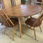 Ercol Table and chairs. Dining Set chairs table