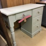 Painted desk dressing table vintage furniture