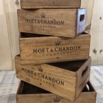Wooden Stencilled Boxes 2 from arkvintage.com. shop buy now online fast delivery Beautifully made, very useful boxes in 5 sizes. They look a treat in the kitchen, can be used for cutlery or oils and sauces on the table in side or al fresco at a BBQ!