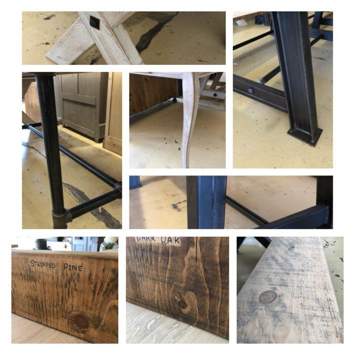 New arrivals vintage antique industrial furniture interiors surrey camberley arkvintage @arkvintagecamberley bespoke tables