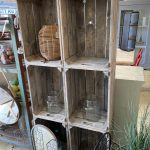 bushel crates storage decoration usful hand made reclaimed wood