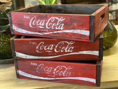coke crate rustic wooden gift present bar pub P&P online buy now