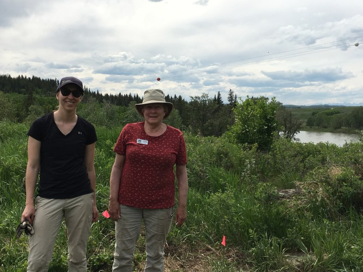 They couldn\'t stay away! Megan Trefey and Katherine Peterson on their second day of volunteering with us. 31/05/17