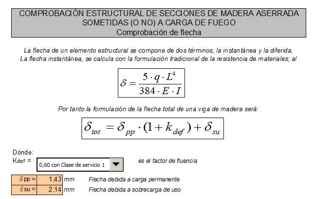 Cálculo de Estructuras: Vigas de madera (6/6)