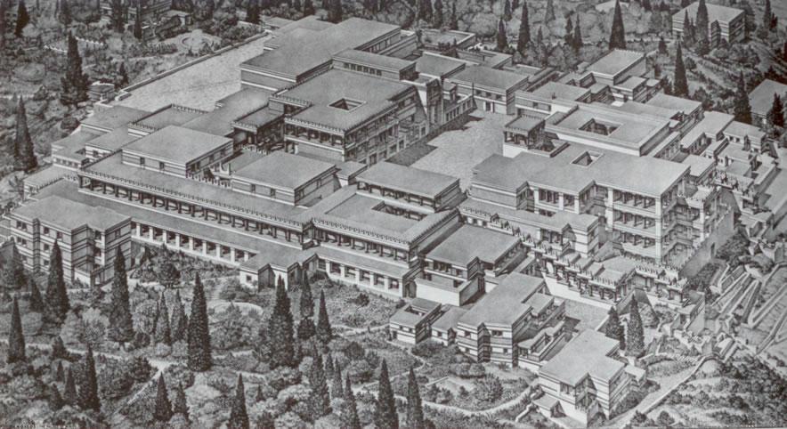 Arquitectura griega II - La civilización minoica (5/6)