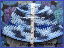 45b Child's Multi Blue Bucket Hat