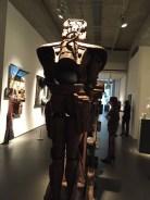 back sculpture