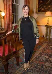 ARLENE PHILLIPS MACMILLAN CELEBRATES THE WORLD'S BIGGEST COFFEE MORNING WITH SOPHIE CONRAN. AT SPENCER HOUSE, LONDON, UK