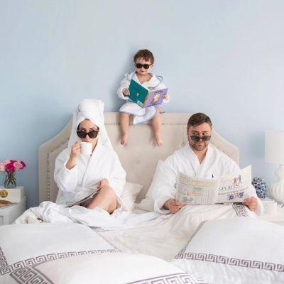 семеен комплект халати