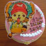 最近のキャラクターケーキ