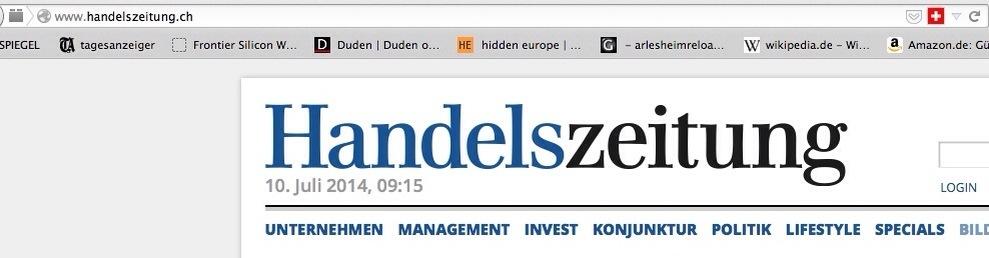 Blochers Basler Zeitung untersteht EU-Recht
