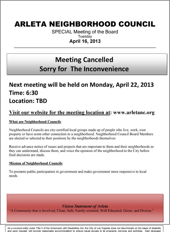 ANC-Special-Meeting-April-16-2013-cancelled