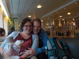 Op de boot naar Hull