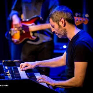 Jonny Henderson on organ