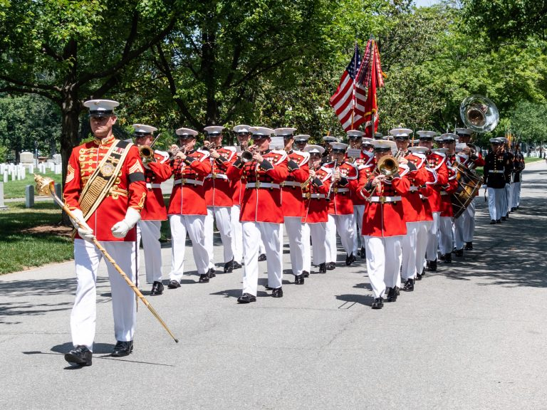 US Marine Band on McPherson Drive