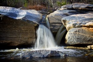 Judy King - Waterfall at Sabino Canyon