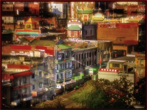 Larry Arends - Chinatown at Golden Hour