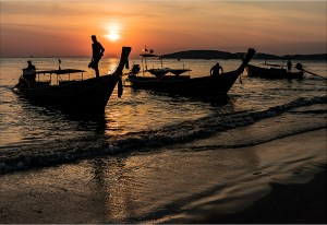 "Bill Foulks - ""Thailand Shore"""