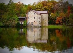 "Paula Matzek - ""Old Mill, Lake Delton"""
