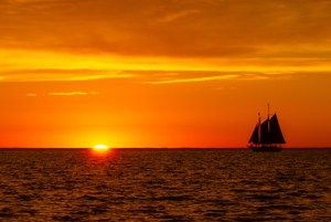 "Steve Seburn - ""Sunset Sailing"""