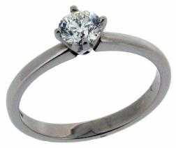 NSEW four claw setting diamond engagement ring.