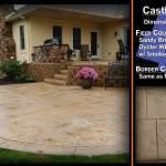 Stamped Concrete Design Catalog Arlington Concrete