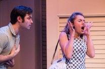 Dom and Miranda Reilly as Elaine