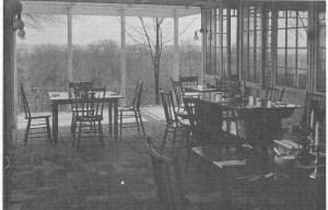 Tea house brick dining