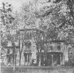 The house that Adm. Rixey bought in 1888.