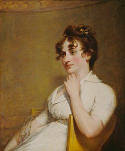 """Eleanor """"Nelly"""" Parke Custis [Lewis], youngest of Martha Washington's three granddaughters. was born at Abingdon, the home of her parents, John Parke Custis and Eleanor Calvert, in 1779,"""