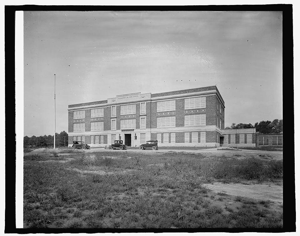 W-L High School, c. 1927