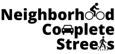 Neighborhood Complete Streets Logo