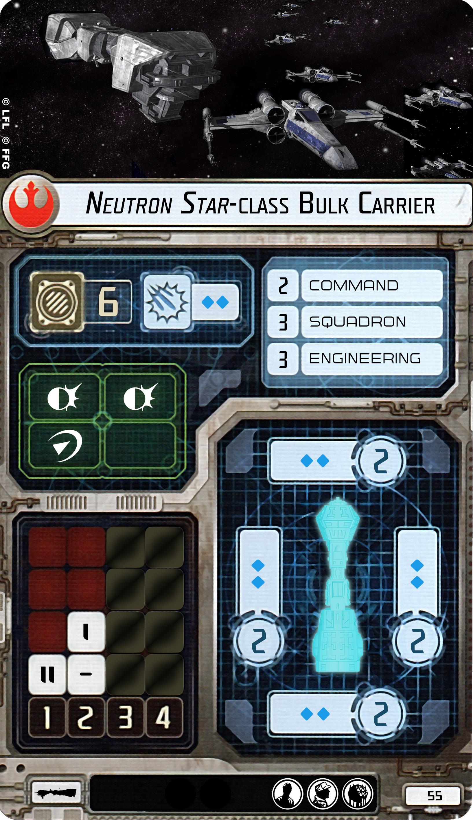 Neutron Star Class Bulk Cruiser Armada Shipyards