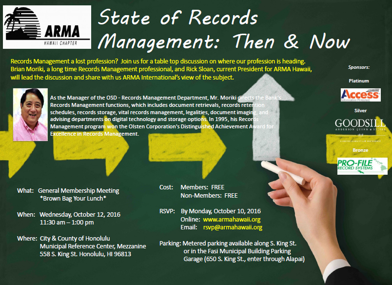 State of Records Management: Then & Now