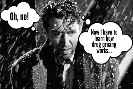 Oh no! Now I have to learn how prescription drug pricing works.