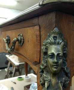 Furniture Repair of an Antique Desk