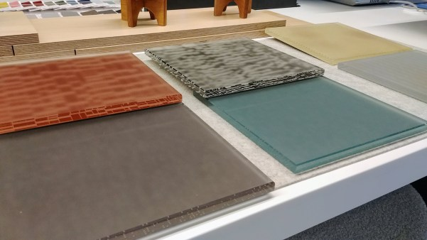 Steelcase Backpainted Glass Samples