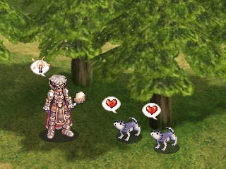 オーディン、仔狼を拾う