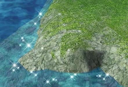 フレスエイ島・海岸