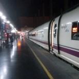 viajeros al tren