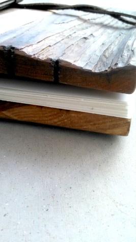 Reclaimed Wood Sketch Book (Detail)