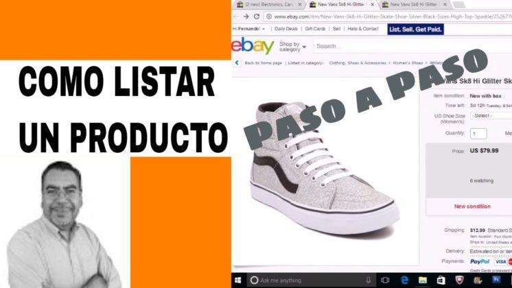 Como Hacer Un Listado en eBay Paso a Paso