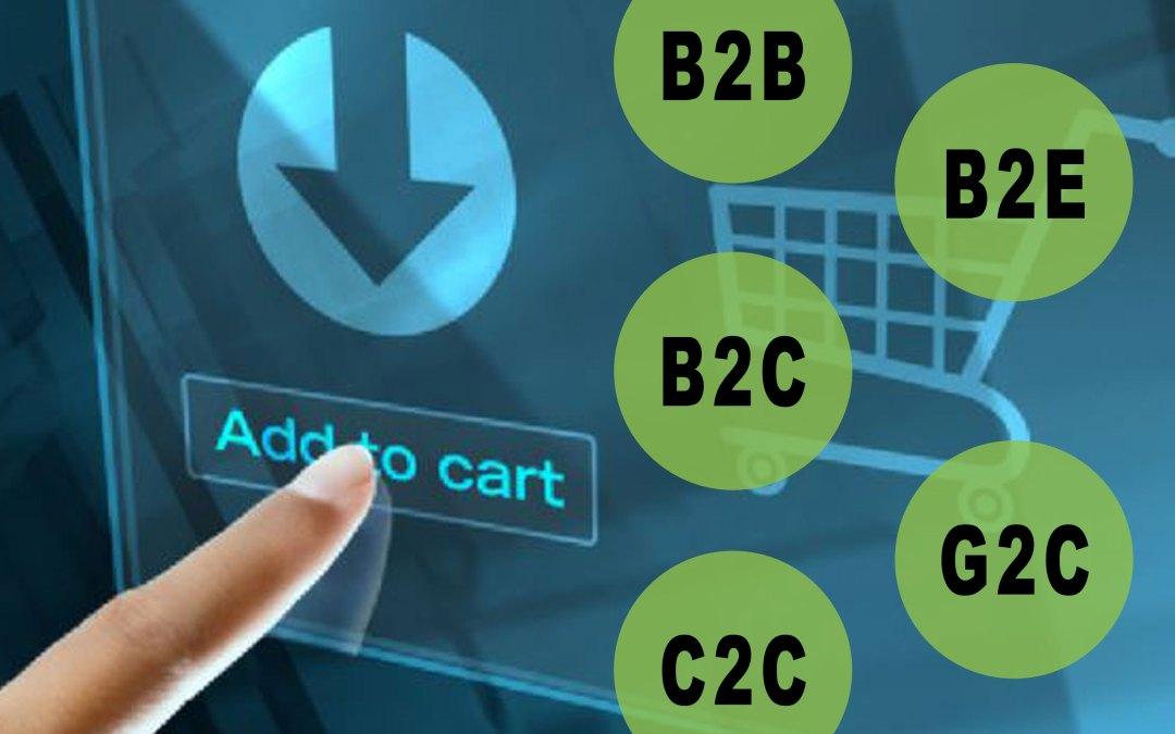 Tipos De Comercio Electrónico | Ejemplos