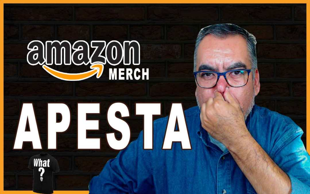Amazon Merch APESTA 💩 [6 Razones IMPORTANTES]🦨