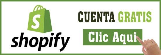 Shopify cuenta gratis
