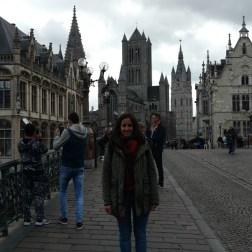 Las tres torres y una novia atrás