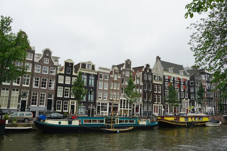 Casas tipicas de Amsterdam