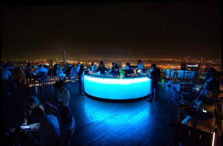 Visitar algún Rooftop, qué hacer en Bangkok