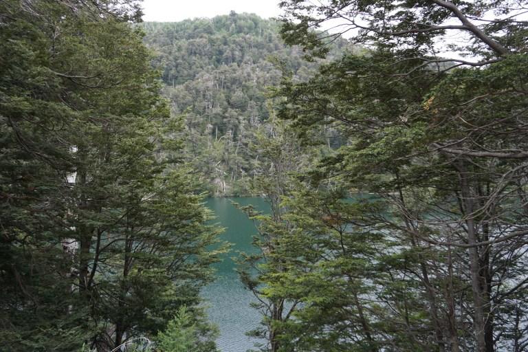 Lago Escondido en la a ruta de los siete lagos