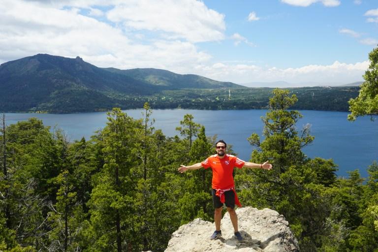 Mirador Lago Gutiérrez, lugares para visitar en Bariloche en verano